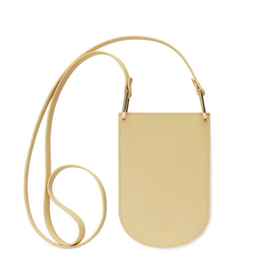 Dome Mini Crossbody ALMOND