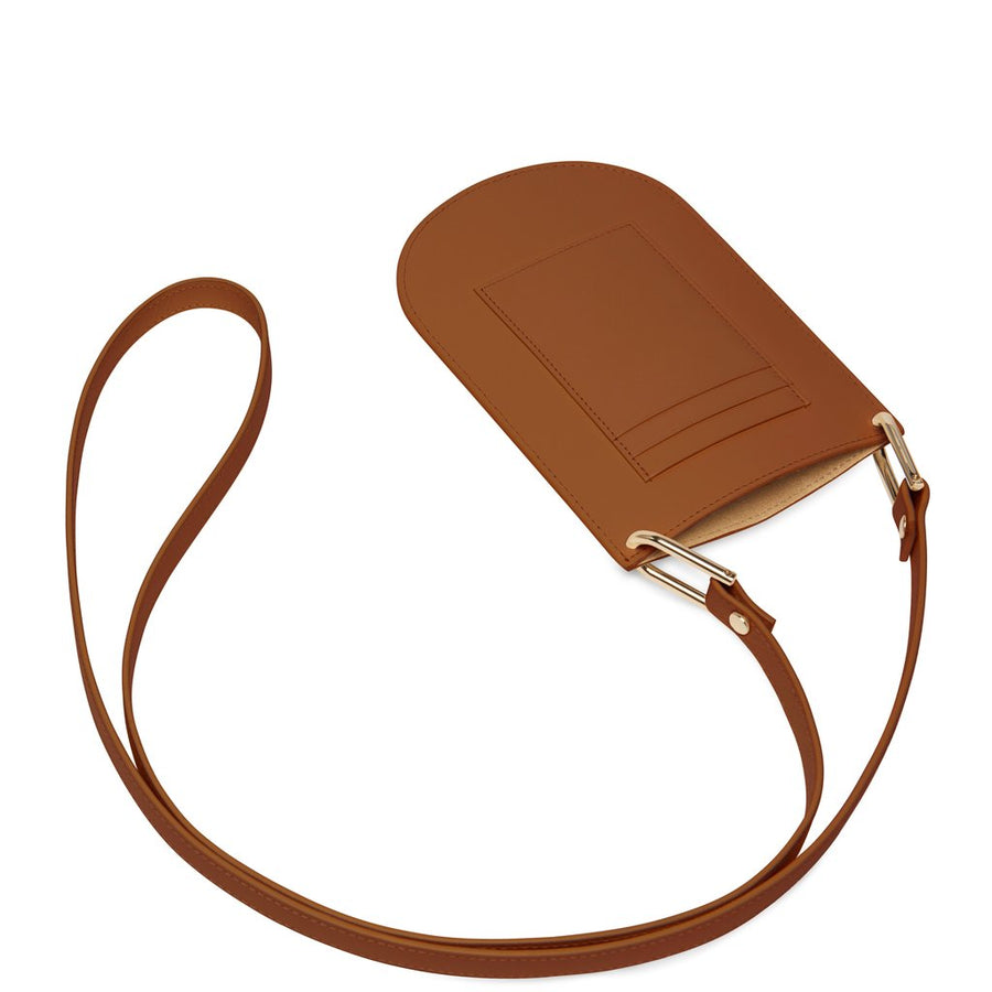 Dome Mini Crossbody Saddle