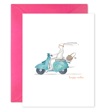 Easter Moped Card