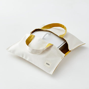 Plat Wide Culinary Tote in Honey