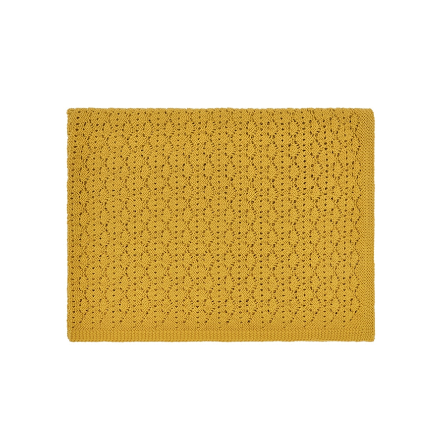 Dentelle Blanket, Yellow