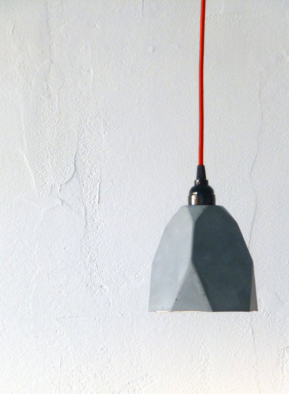 Concrete Pendant Light : Concrete Project