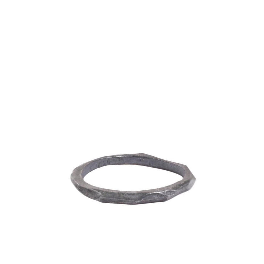 Crag Ring : Oxidized Silver