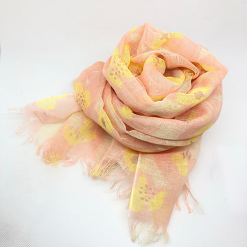 Summer Scarf - Peachy Dream