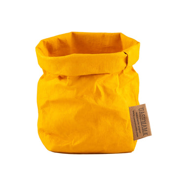 Paper Bag : Senape (sunflower yellow)
