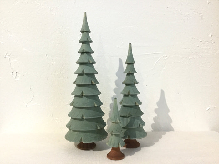 Wooden Notched  Christmas Tree