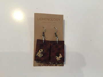 E-24 Rhododendron Earrings