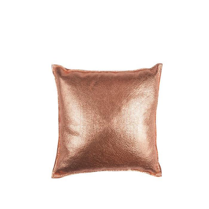 Copper Nesting Squares Pillow