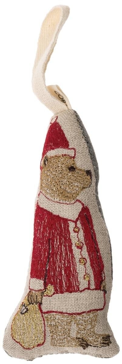 Santa Bear Ornament (SALE)