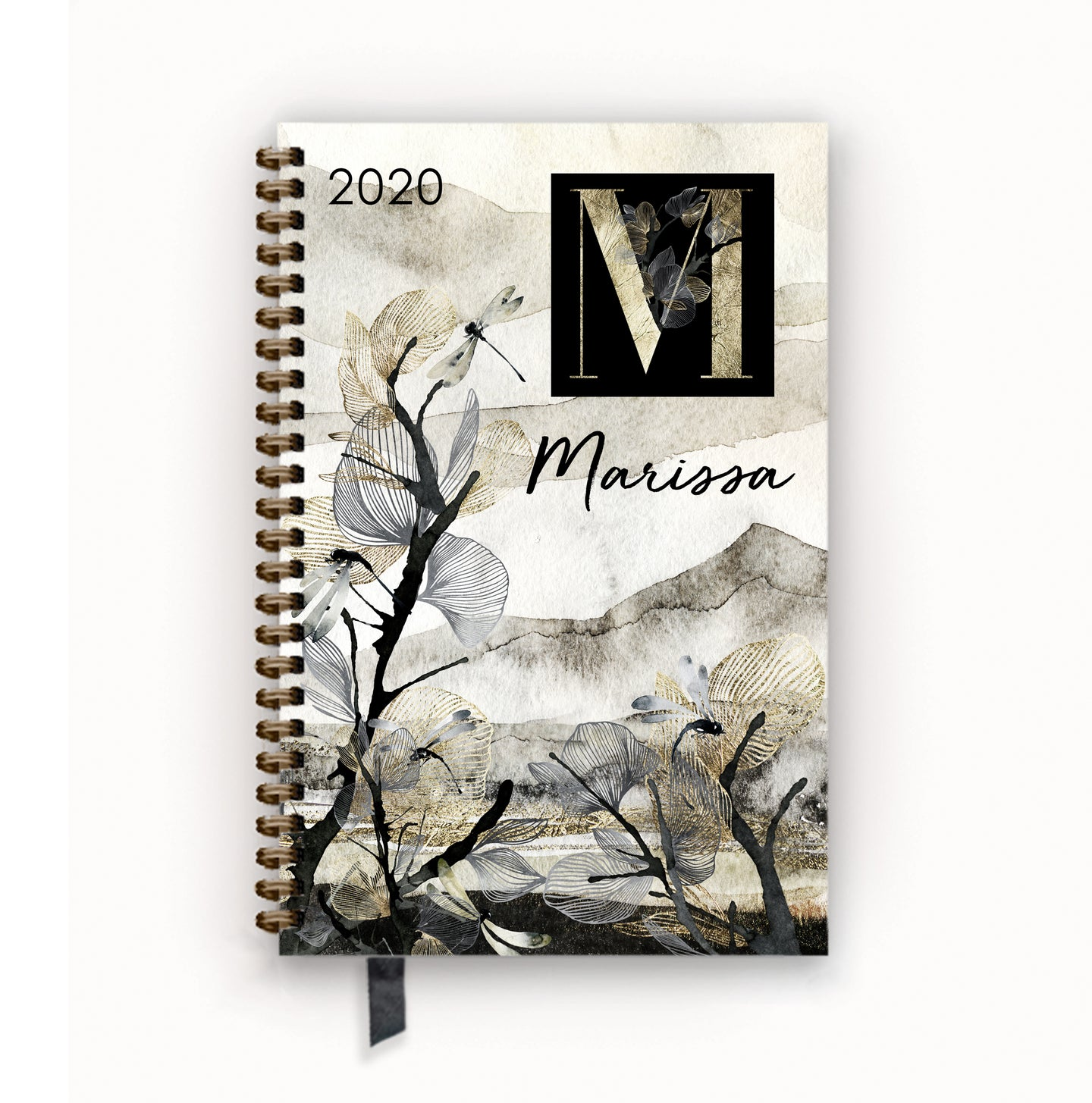 2020 FlexPad Personalized Planner Mountain Mist Monogram