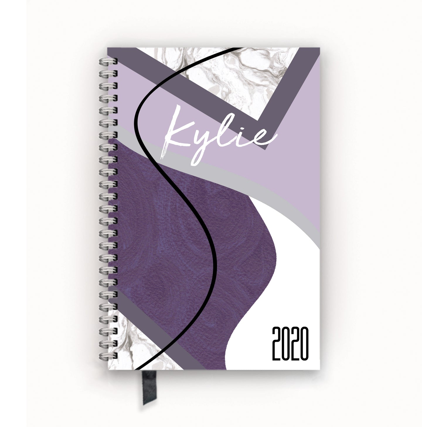 2020 FlexPad Personalized Planner Shades of Violet Collage