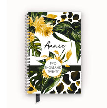 Load image into Gallery viewer, 2020 FlexPad Personalized Planner Tropical Floral