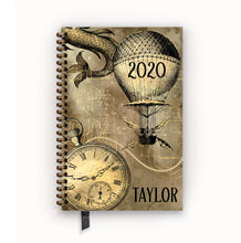 Load image into Gallery viewer, 2020 FlexPad Personalized Planner Vintage Steampunk