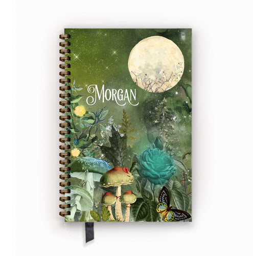 Undated Academic Personalized Planner Enchanted Forest
