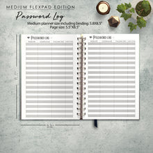Load image into Gallery viewer, 2020 FlexPad Personalized Planner Woodland Creatures
