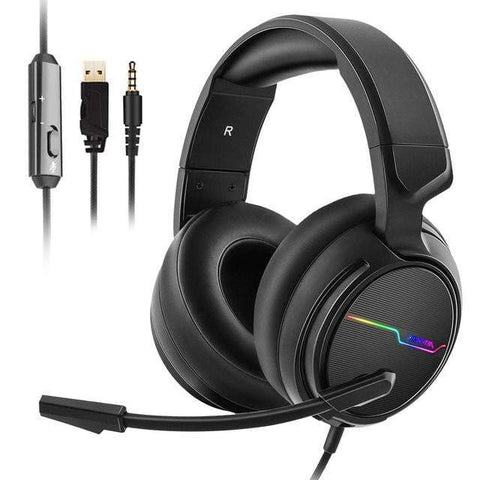 Casque Gaming<br> USB 7.1 casque de gaming Le Gaming