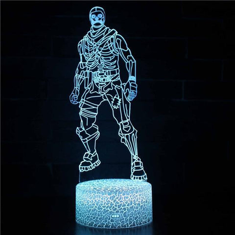 Lampe Fortnite<br> Magique Lampe 3D Fortnite Le Gaming
