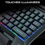Mini Clavier Gamer<br> l'Ergonomique clavier Le Gaming