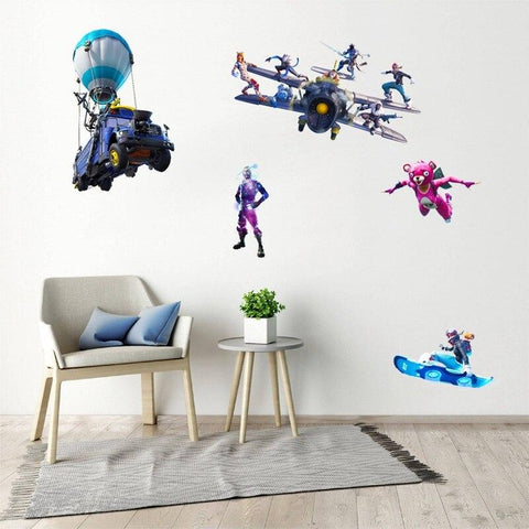 Poster Fortnite<br> Grafitti mural Poster Le Gaming