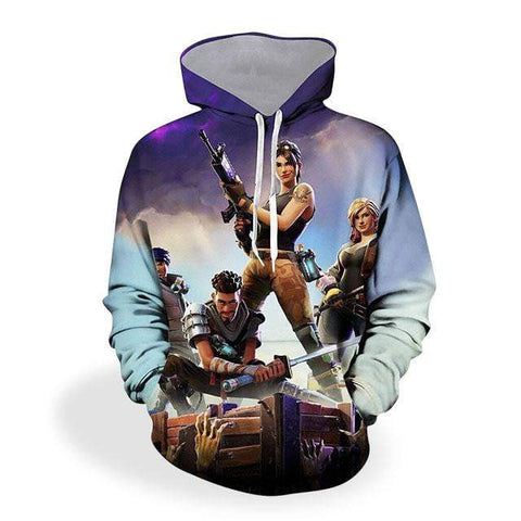 Sweat Fortnite <br> Adulte Sweat Le Gaming