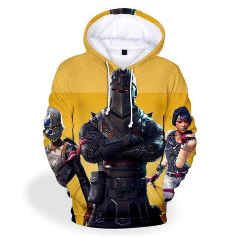 Sweat Fortnite<br> Skin Chevalier Noir Sweat Le Gaming