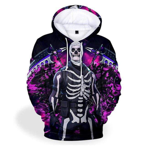 Sweat Fortnite<br>Skull Trooper Sweat Le Gaming