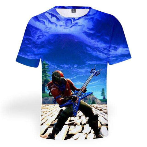 T-shirt Fortnite <br> Saison 3 t-shirt Le Gaming