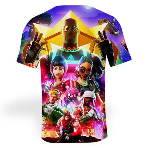 T-shirt Fortnite<br>3D t-shirt Le Gaming