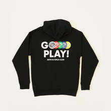 "Load image into Gallery viewer, ""Go Play"" Exercise Snacks Hoodie"
