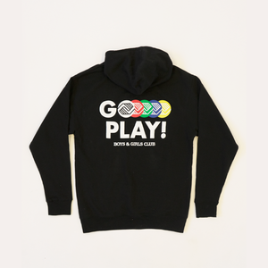 """Go Play"" Exercise Snacks Hoodie"
