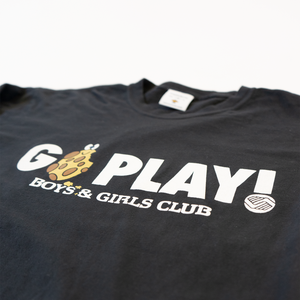 """Go Play"" Unisex Long Sleeve Tee"