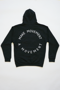 Make Movement A Movement Hoodie (Black)