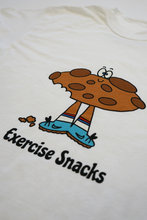 Load image into Gallery viewer, Exercise Snack Tee (White)