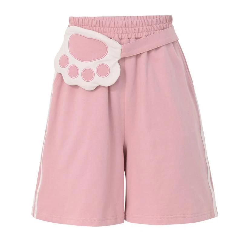 3-Piece-Pink-Kitty-Vest-Shorts-and-Jackets