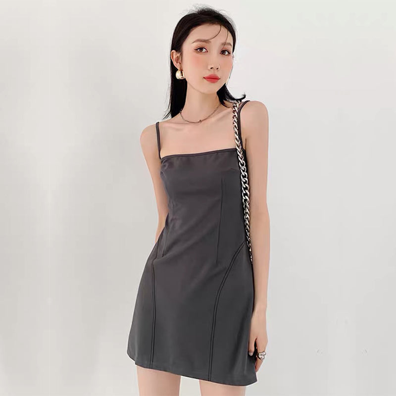 2-Piece Hollow Out  Short Sleeve Dress