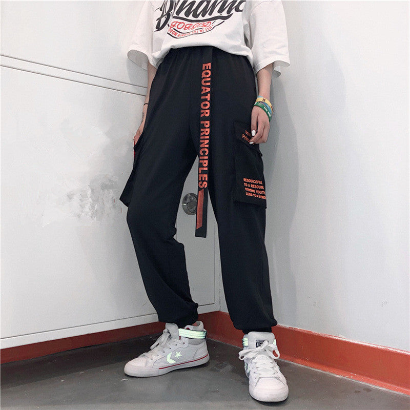 Belt Pocket Street Cargo Pants