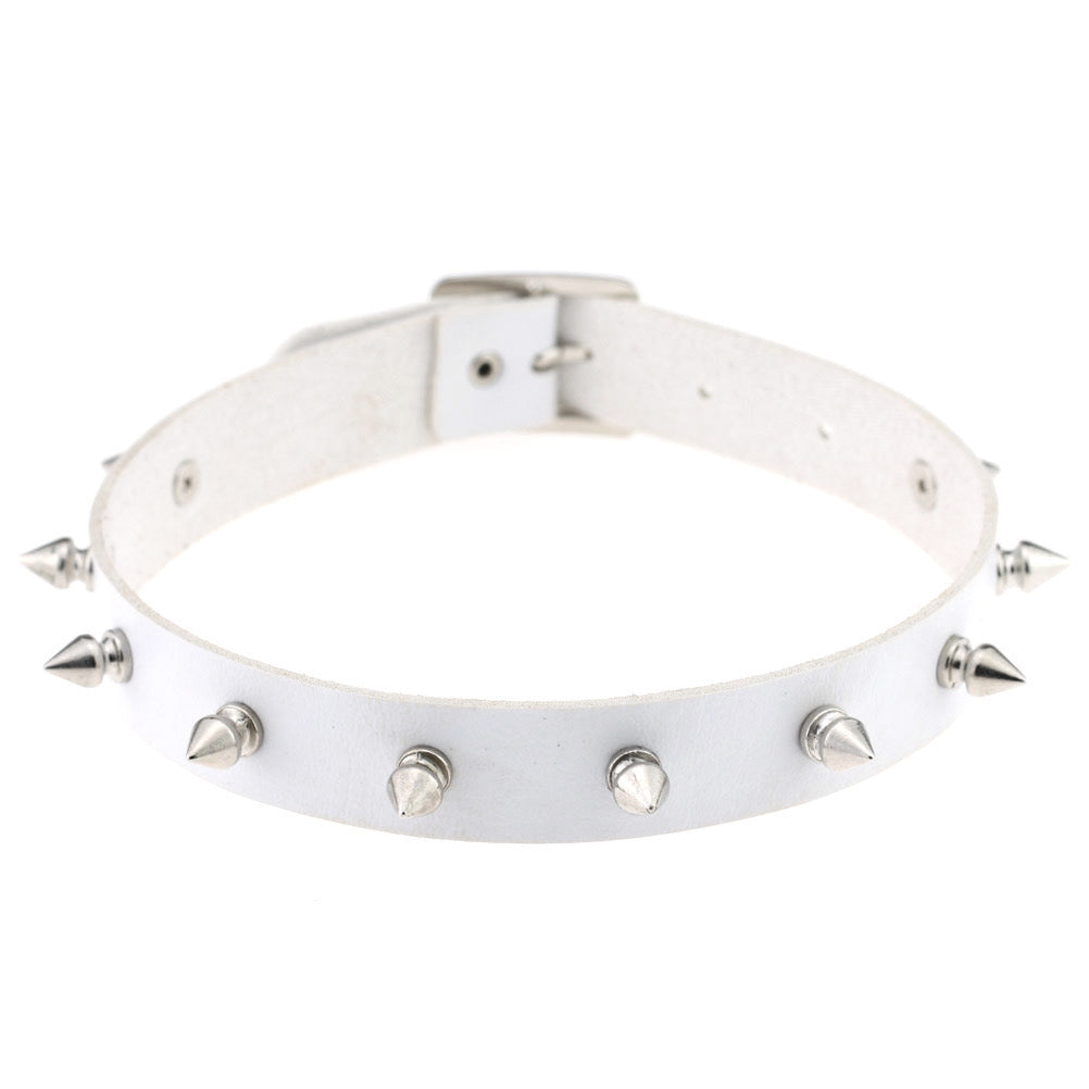 BestKawaii-Black-Spiked-Collar-Choker