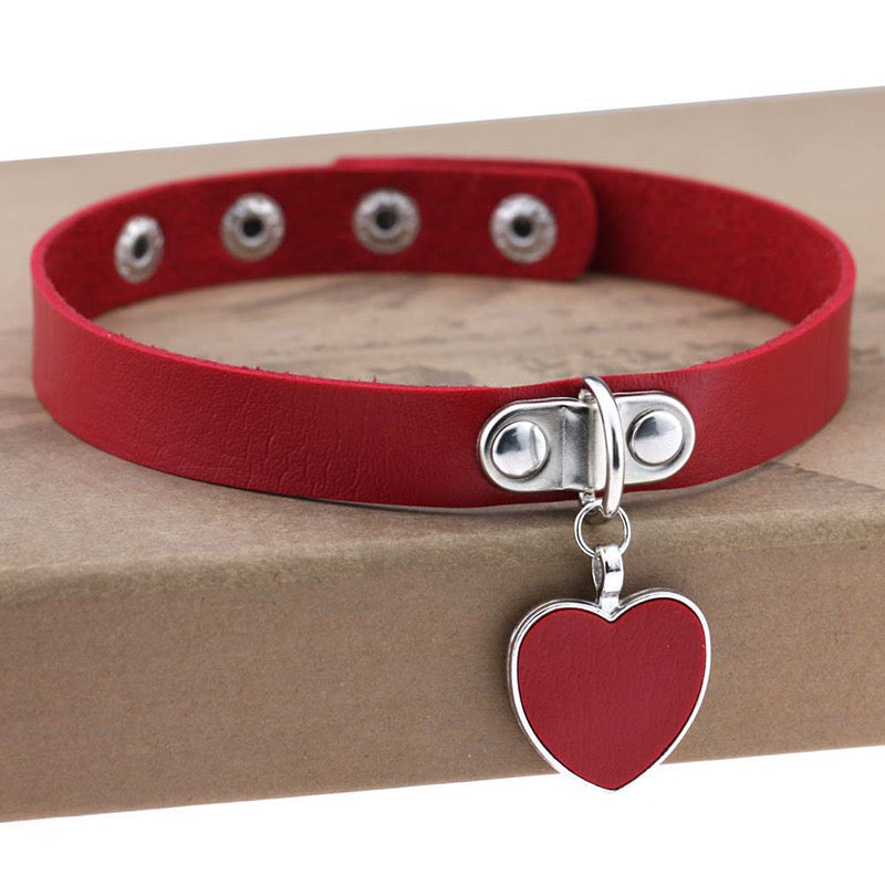 BestKawaii-Love-Heart-Pendant-Choker