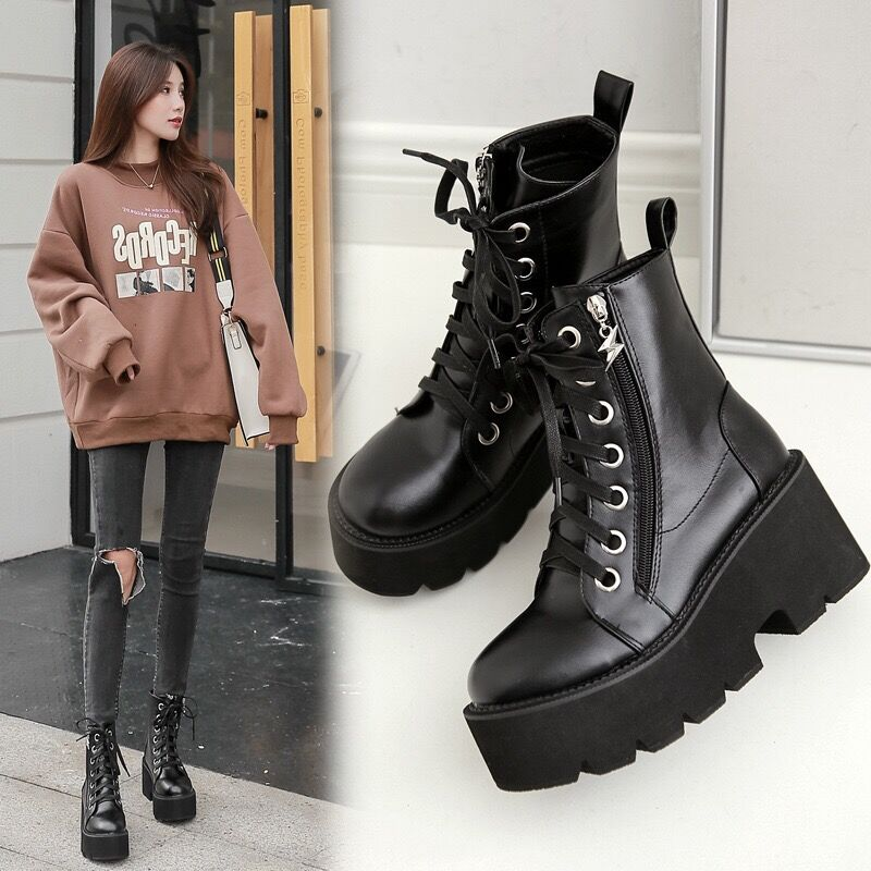 Bestkawaii-British-Style-Motorcycle-Boots