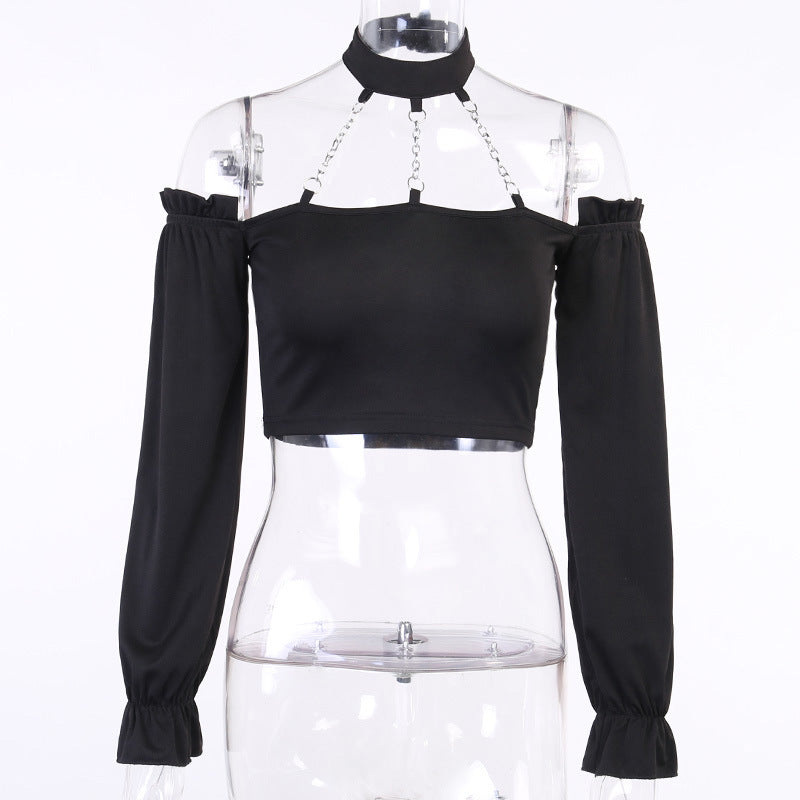 Bestkawaii-Chained-Long-Sleeve-Top