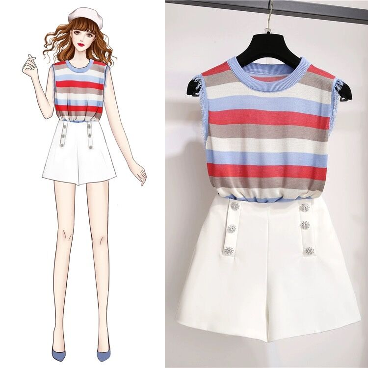 Bestkawaii-Mia-shirt-and-shorts-set