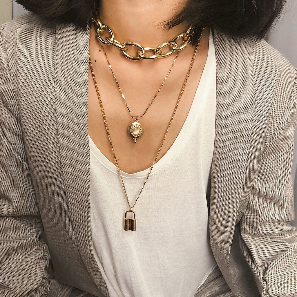 Bestkawaii-Multi-Layer-Lock-Long-Necklace