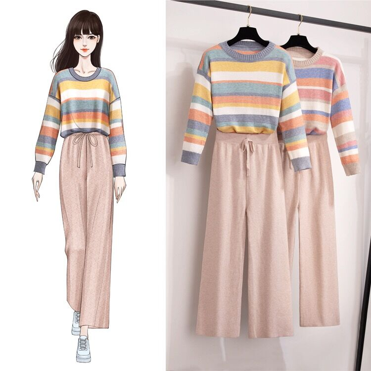 Bestkawaii-Nora-Sweater-And-Pants-Set