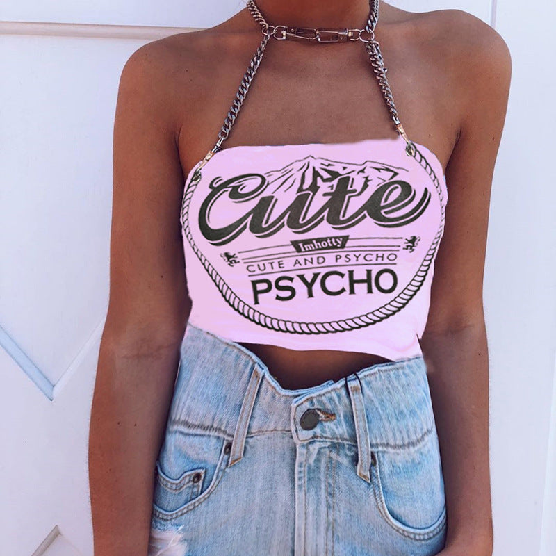 Bestkawaii-Pink-Letter-Printed-Chained-Top