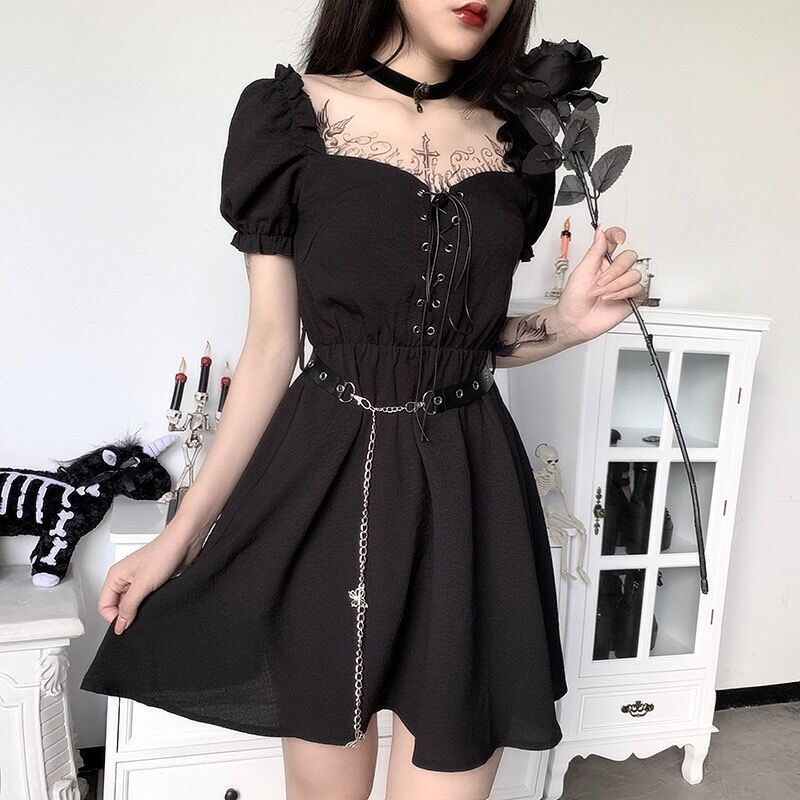 Bestkawaii-Puff-Sleeves-Dress