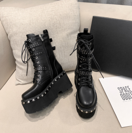 Bestkawaii-Rivet-Lace-Up-Boots