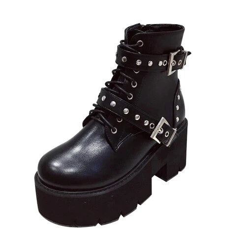 Bestkawaii-studded-buckles-lace-up-platform-boots