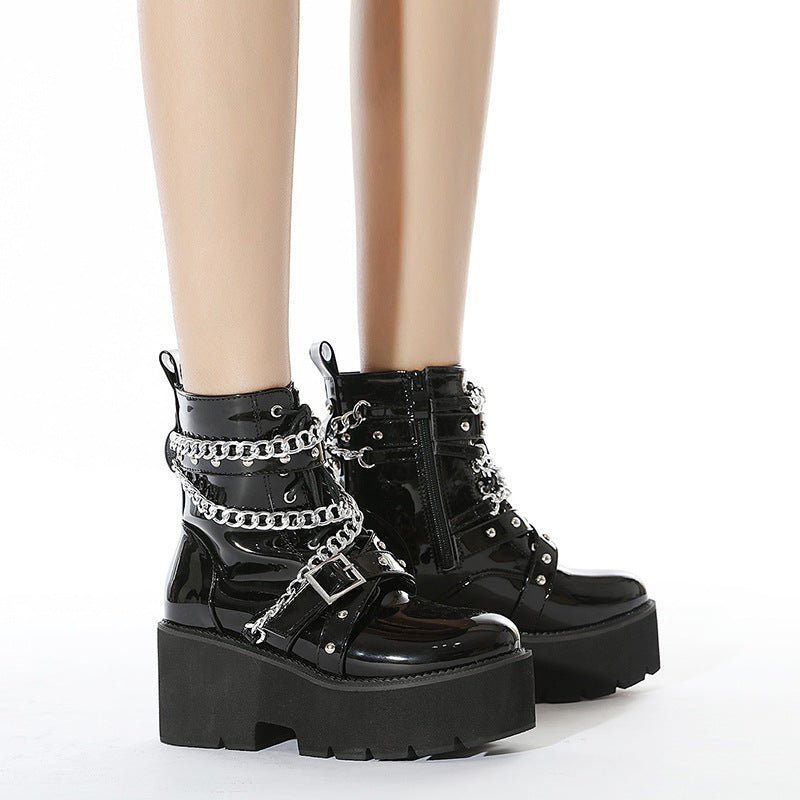 Bestkawaii-Chained-Belt-Boots