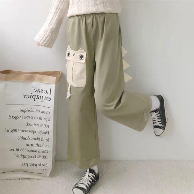 Cute-Dinosaur-Casual-Pants