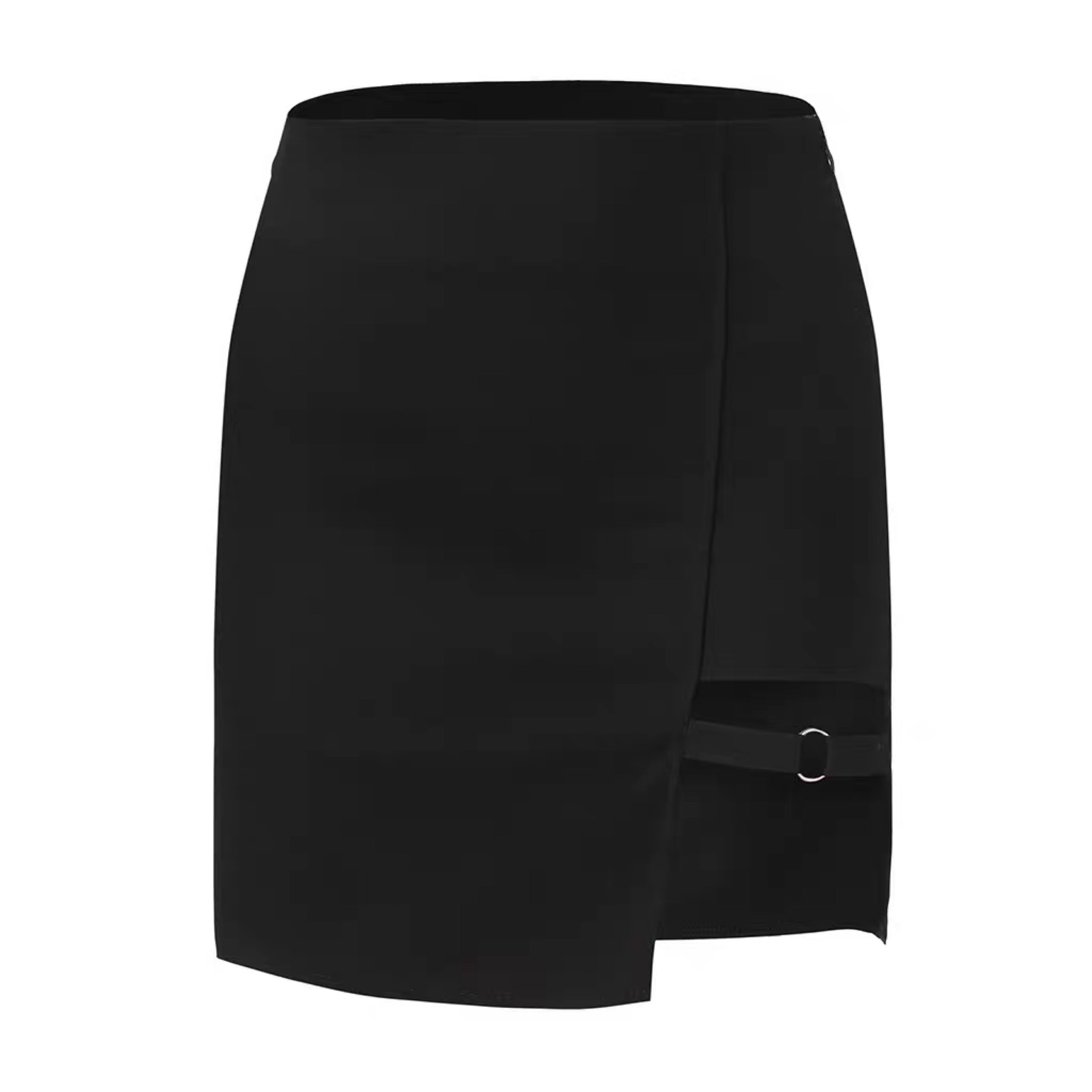 Dominate Asymmetric Goth Skirt